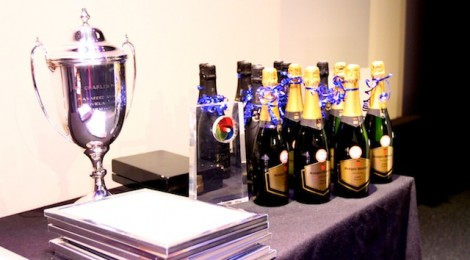 Picture of the awards table