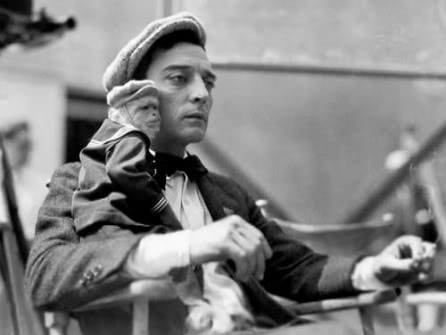 Picture of Buster Keaton in The Cameraman