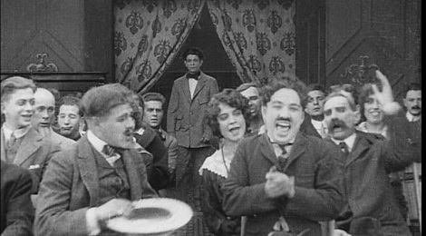 Still from Charlie Chaplin in A Film Johnnie
